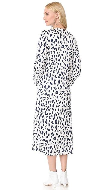 Tibi Sculpted Sleeve Dress