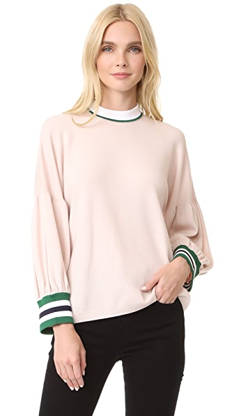 Oversized Puff Sleeve Pullover