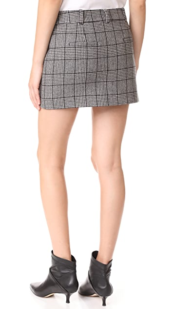 Tibi Aldrige Tweed Mini Skirt