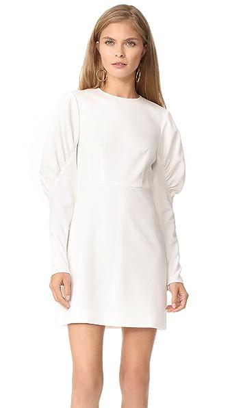 Tibi Florence Short Dress - Ivory