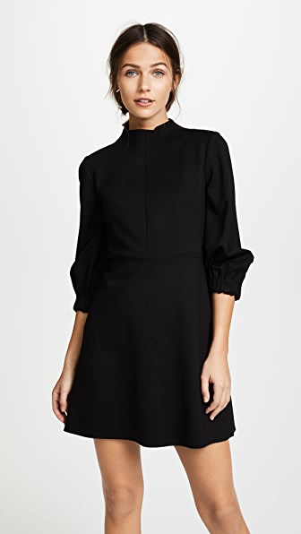 Tibi Mock Neck Dress