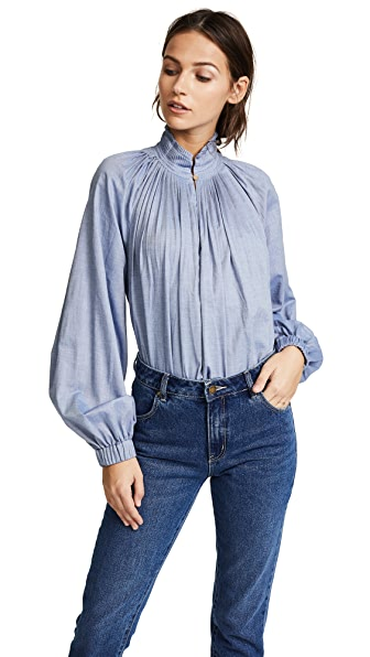 Tibi Edwardian Top at Shopbop