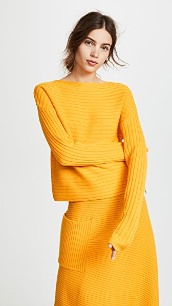 Tibi Structured Pullover