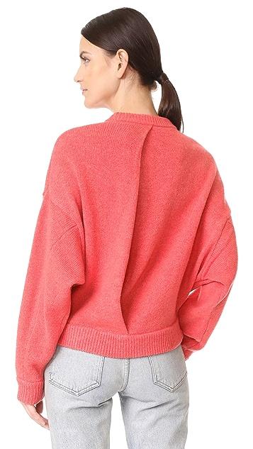 Tibi Shetland Oversized Sweater