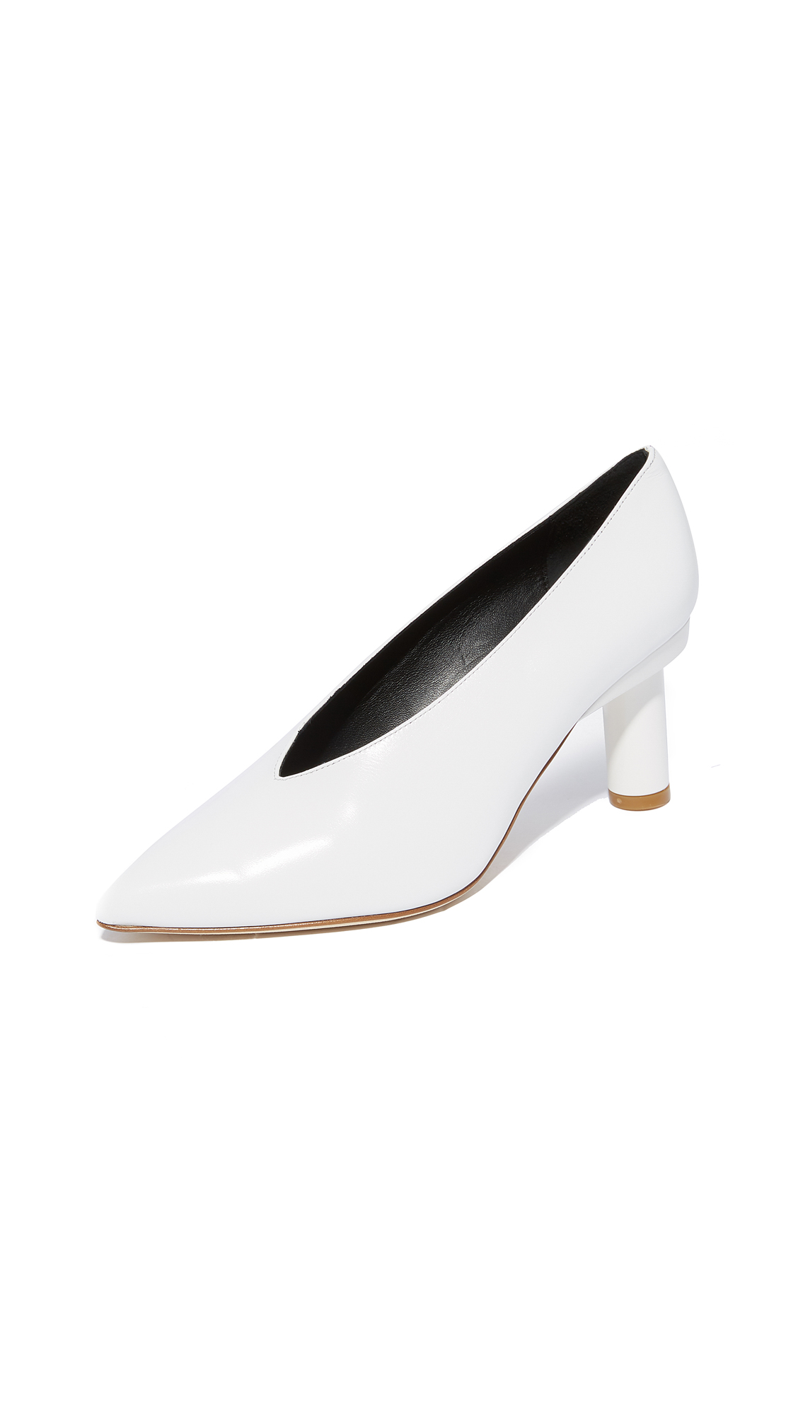 Tibi Zuri Choke Up Pumps - Bright White