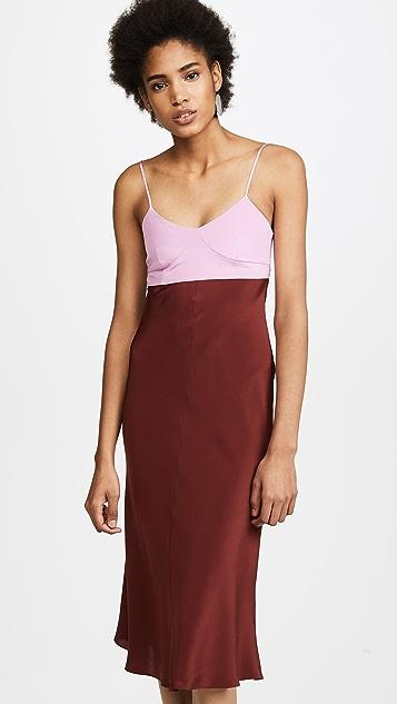 Tibi Bias Lingerie Dress