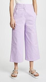Tibi Укороченные джинсы Demi