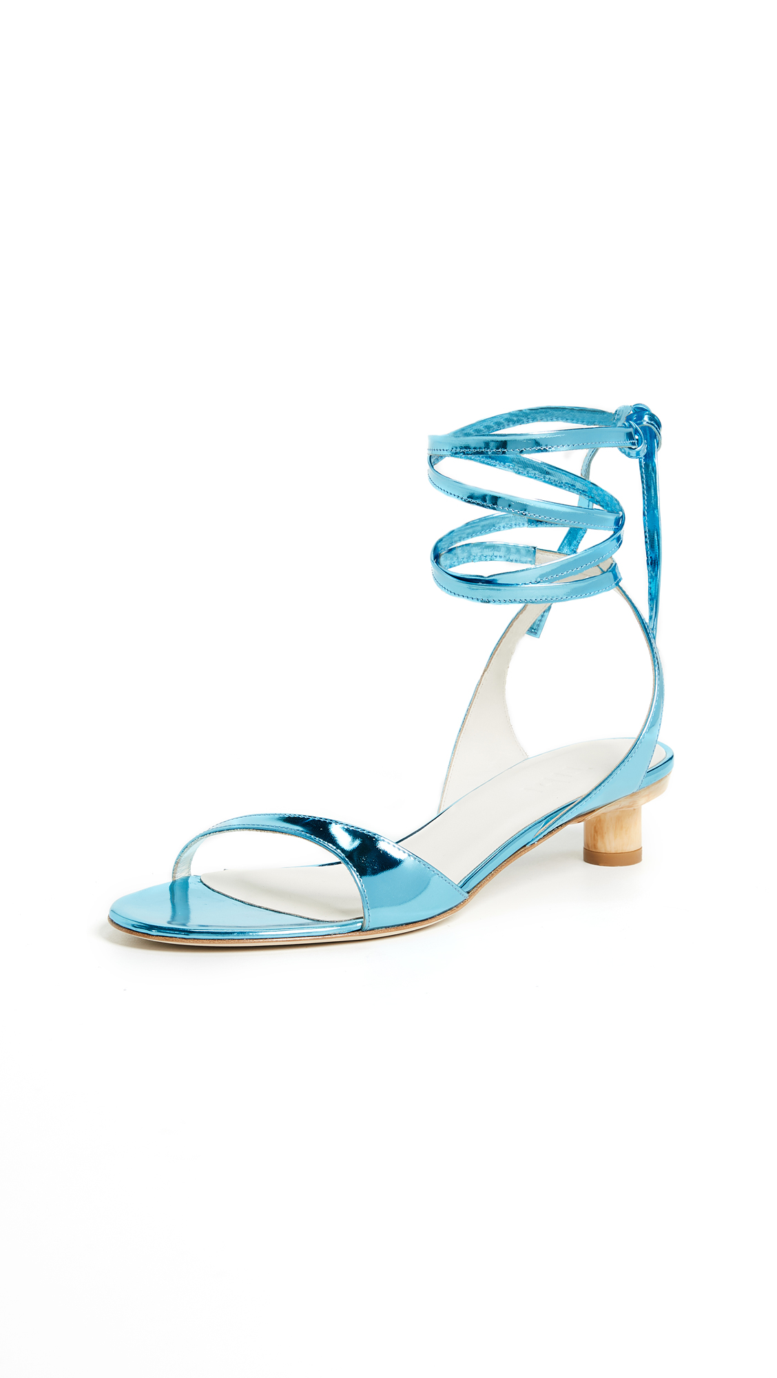 Tibi Scott City Sandals - Oxford Blue
