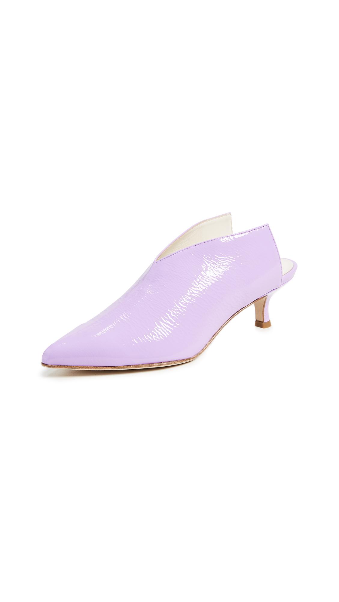 Tibi Jase Mules - Lavender