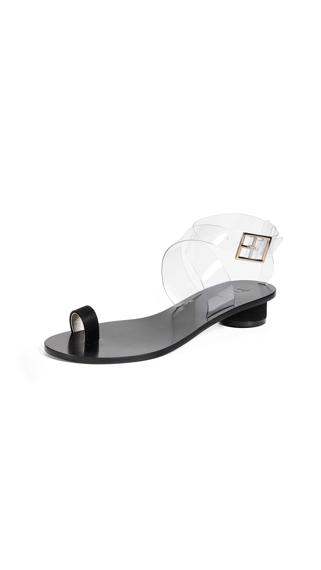 Tibi Hanson City Sandals - Black