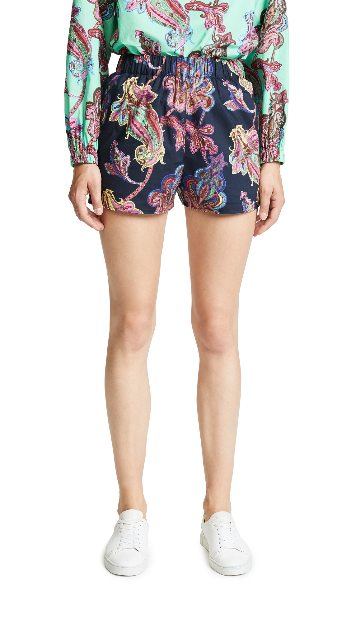 Tibi Pull On Shorts