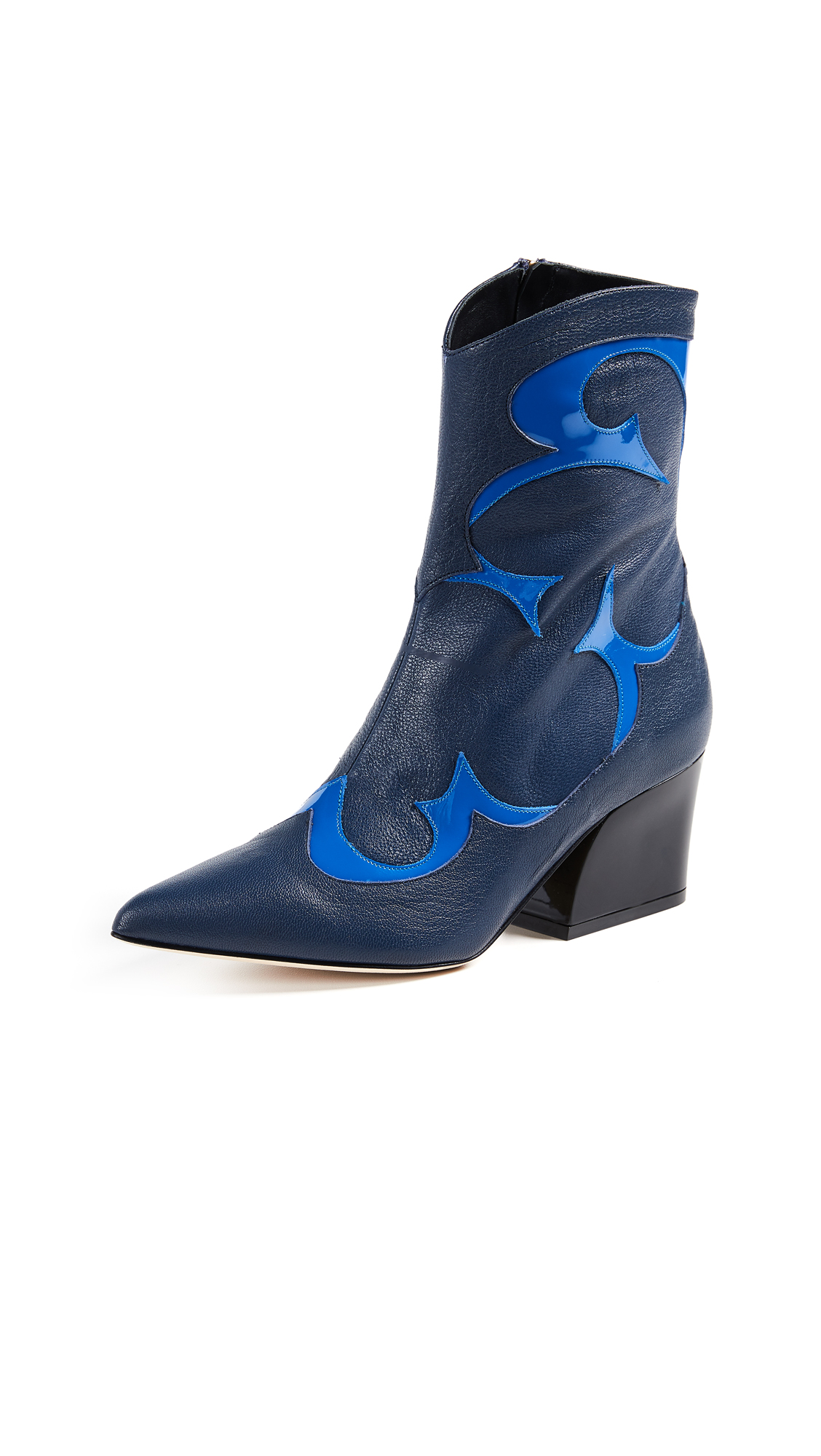 Tibi Felix Boots - Blue/Electric