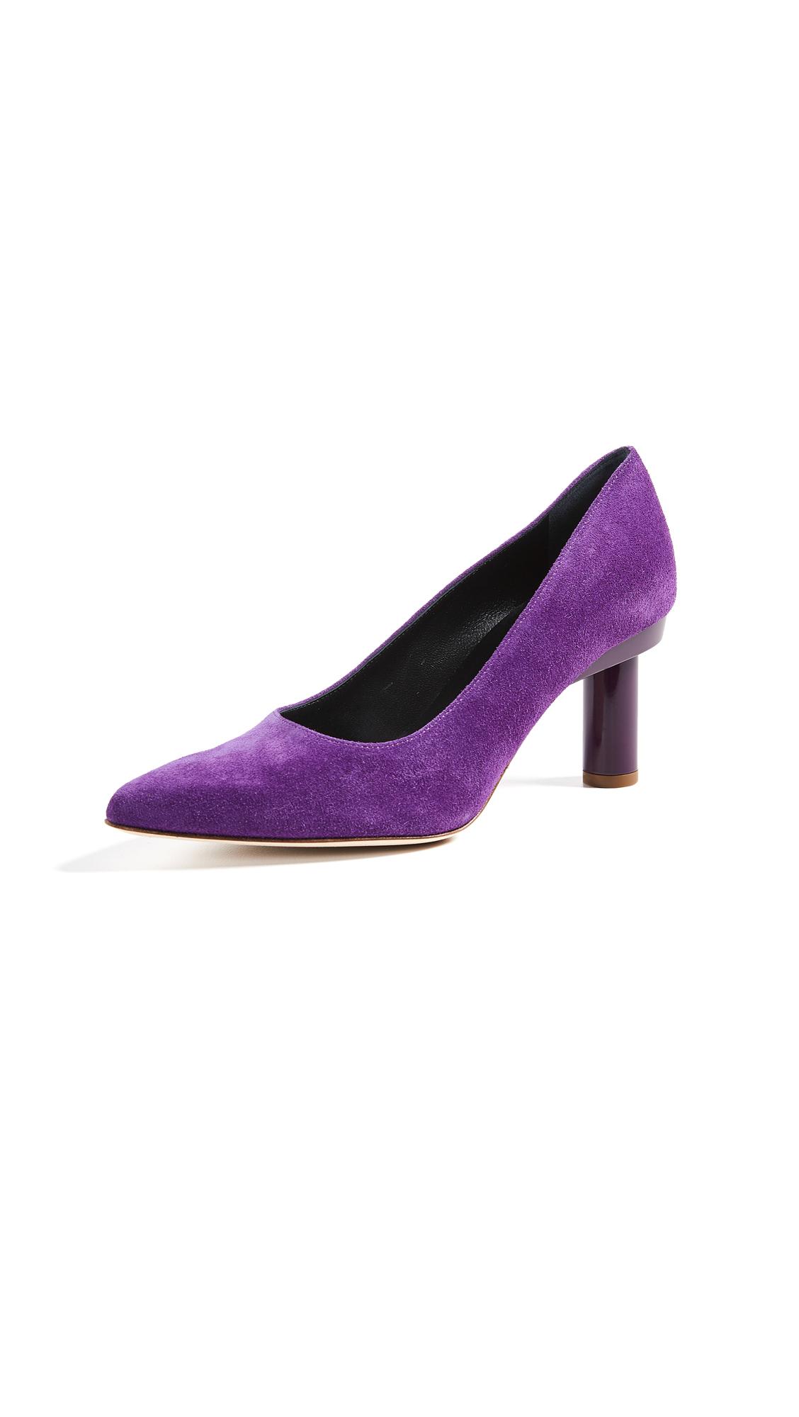 Tibi ZO Pumps - Violet