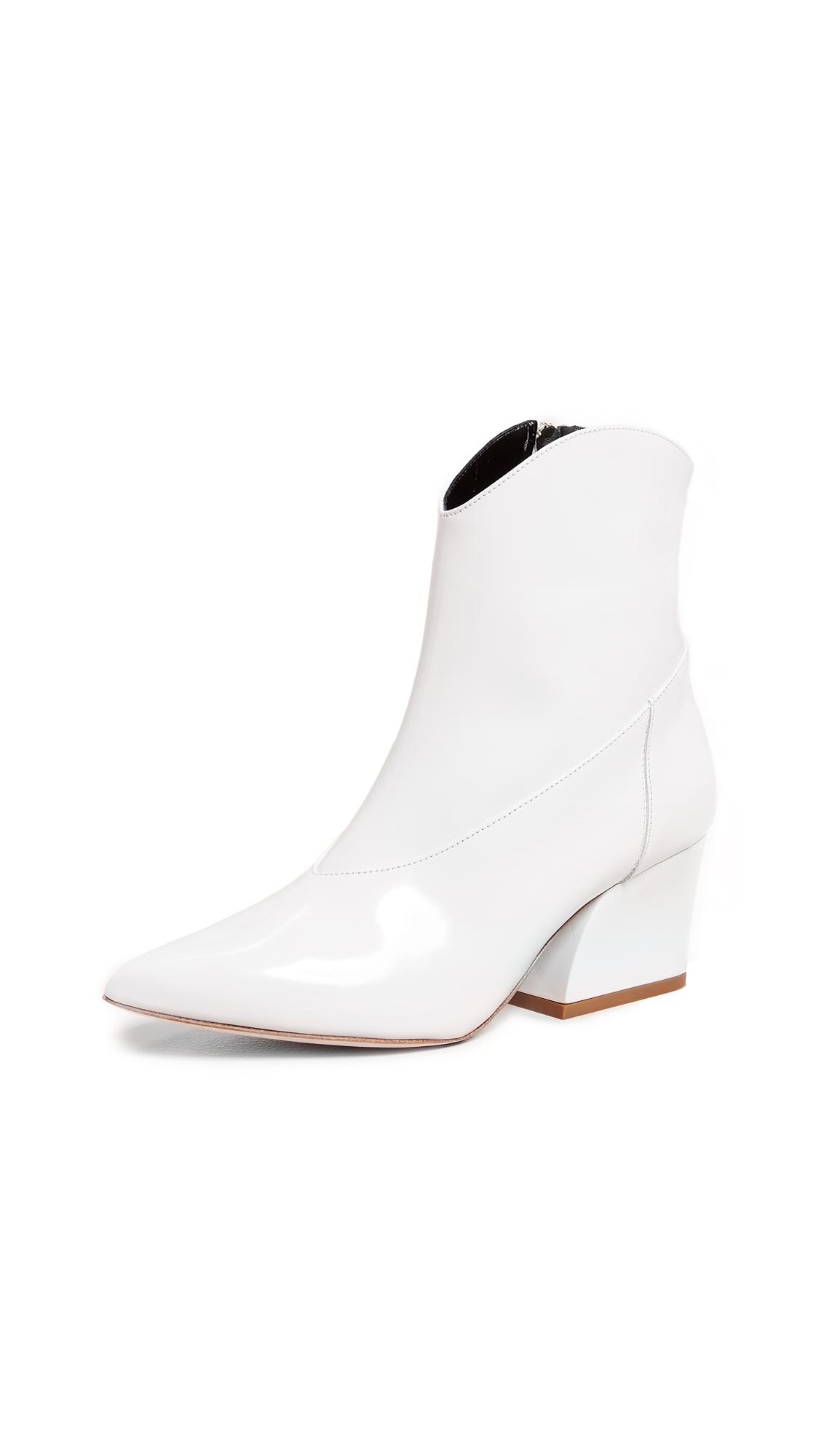 Tibi Dylan Boots - White
