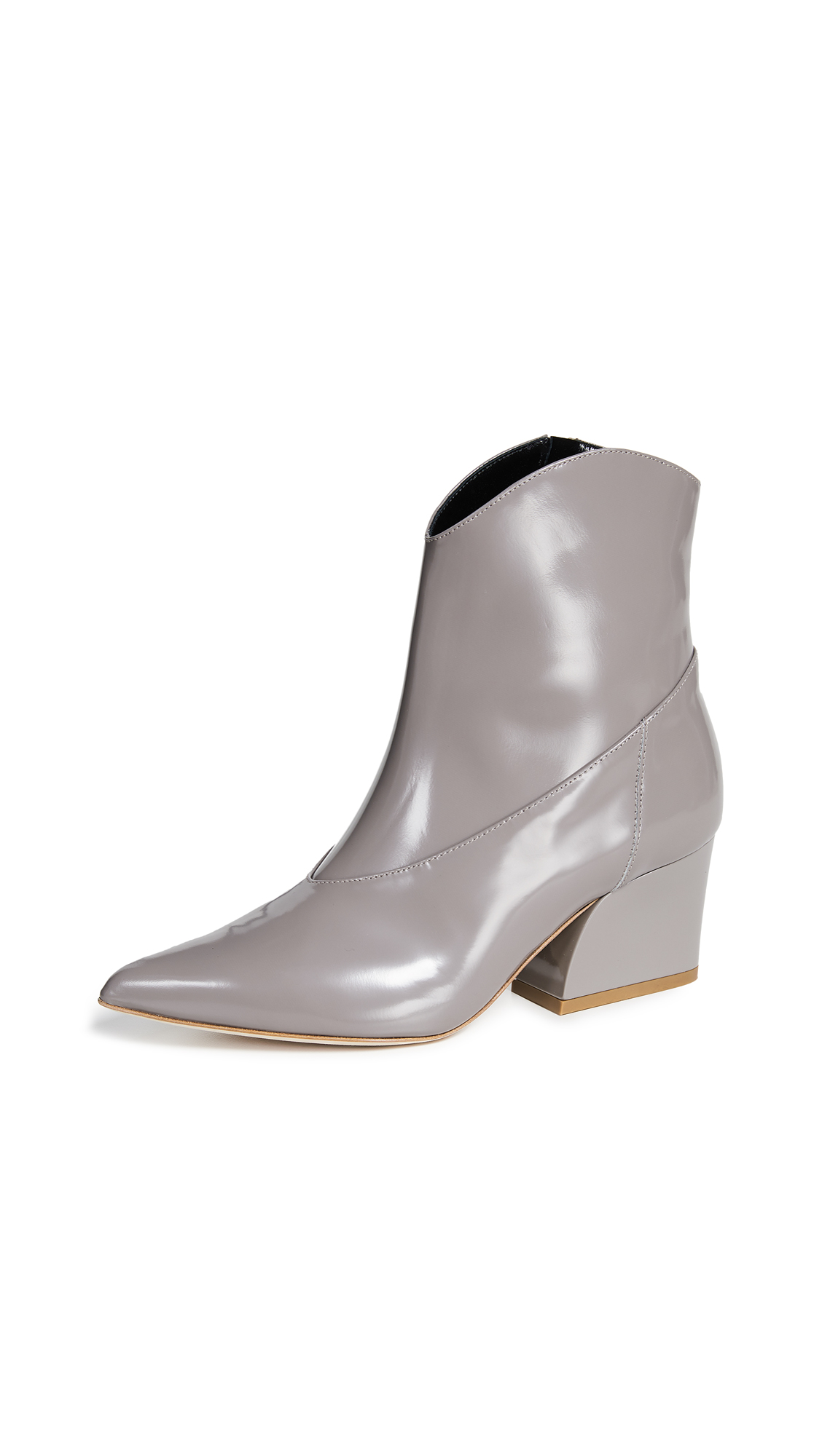 Tibi Dylan Boots - Cement