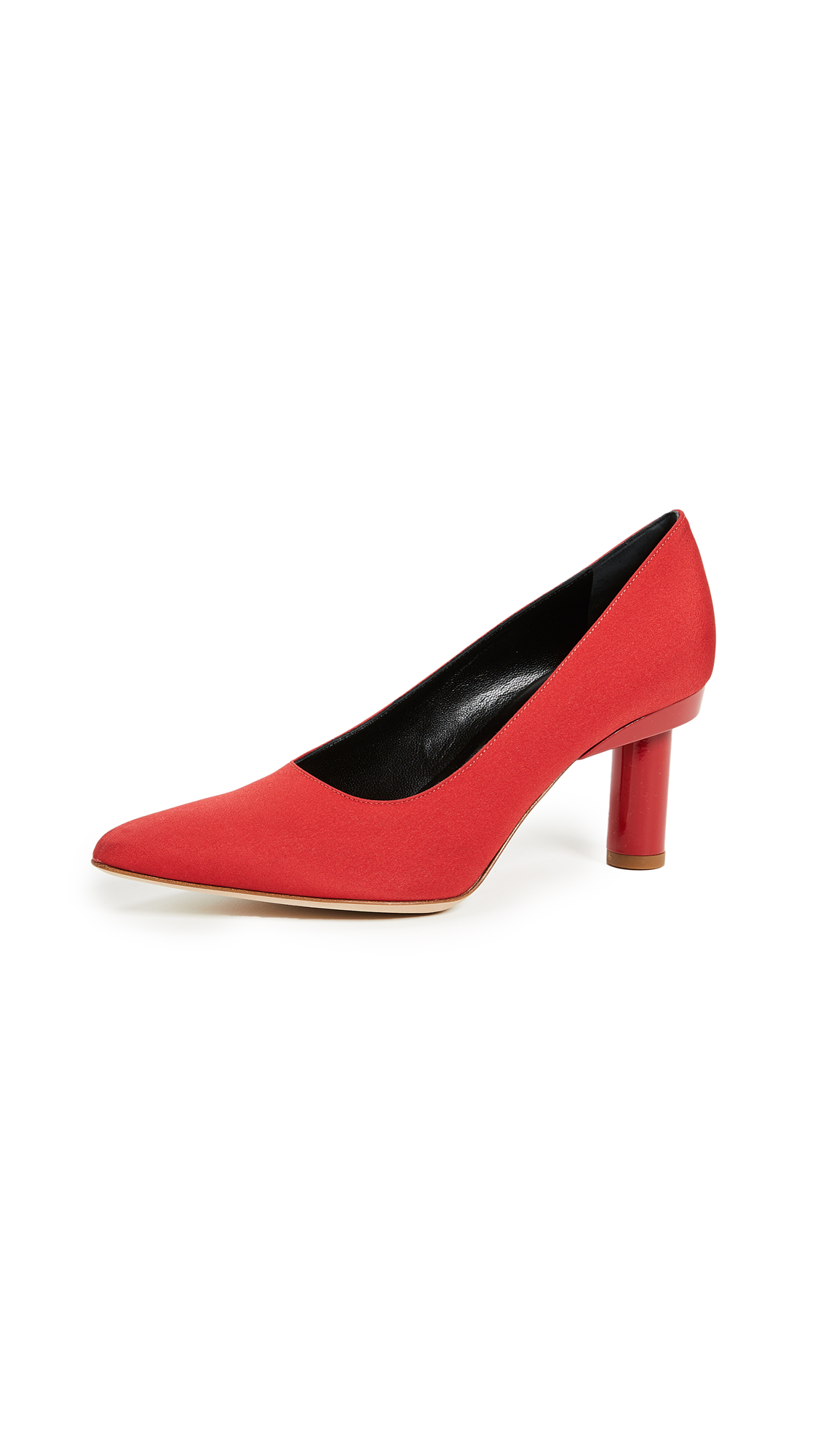 Tibi Zo Pumps - Red
