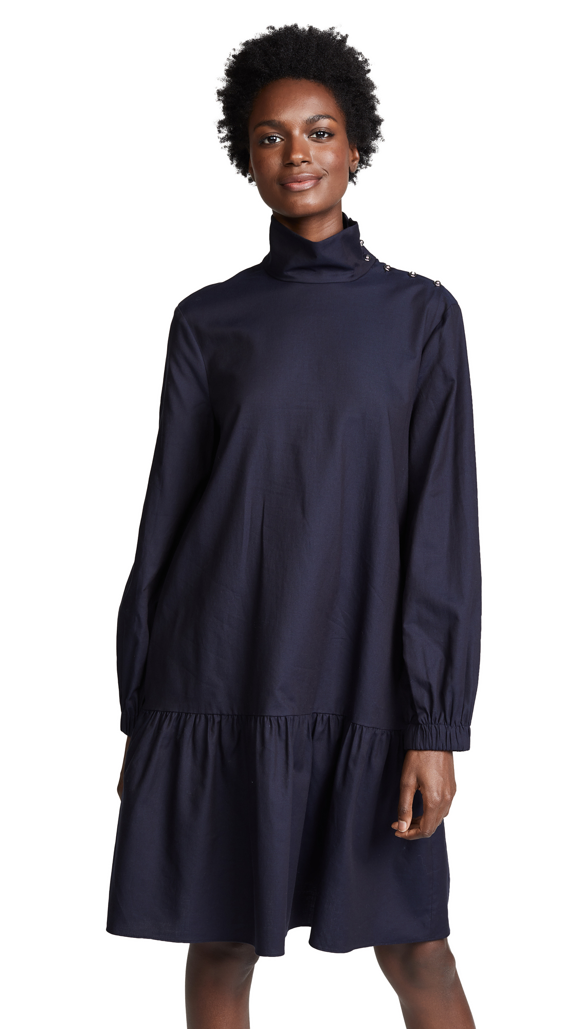 Tibi Jackson Drop Waist Dress