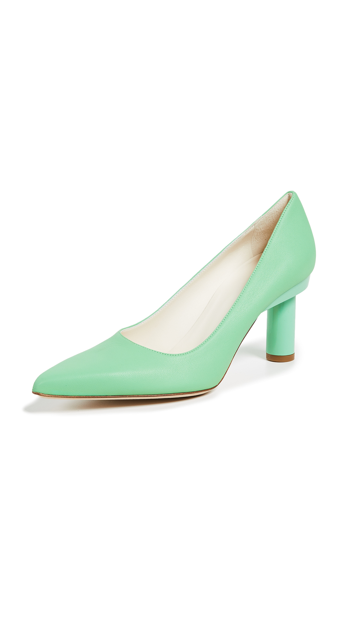Tibi Zo Pumps - Mint Green