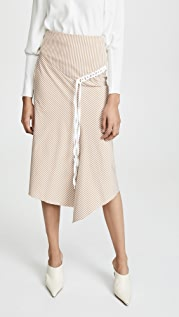 Tibi Lanyard 半身裙