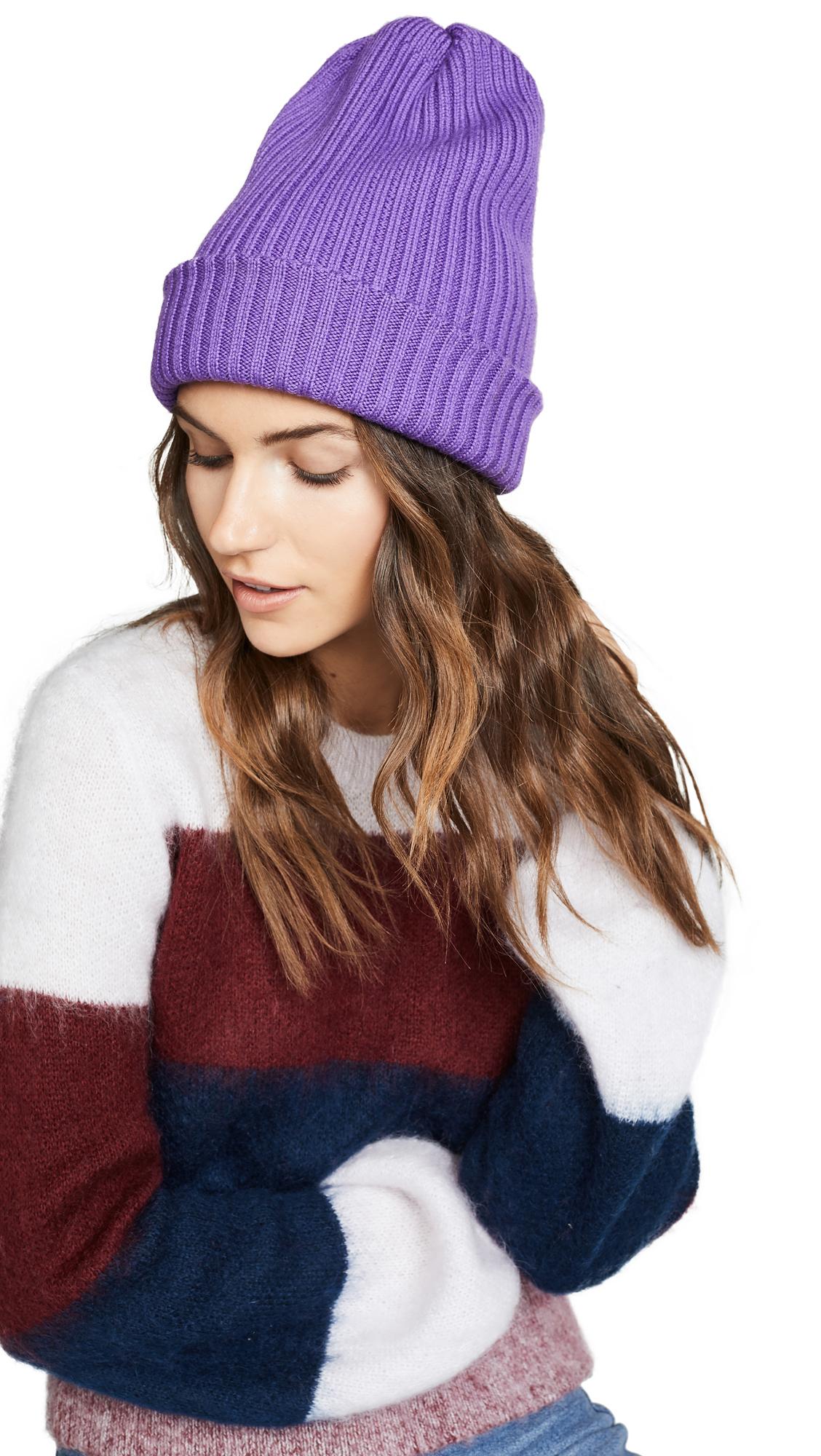 Tibi Beanie - Purple