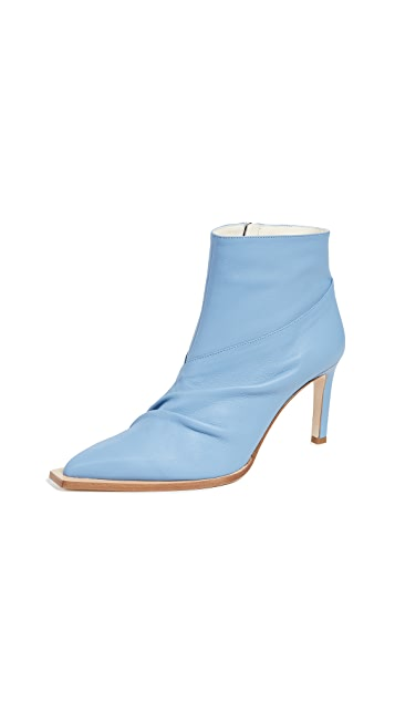 Photo of  Tibi Cato Glove Booties- shop Tibi Booties, Heeled online sales