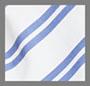 White/Blue Stripe Multi