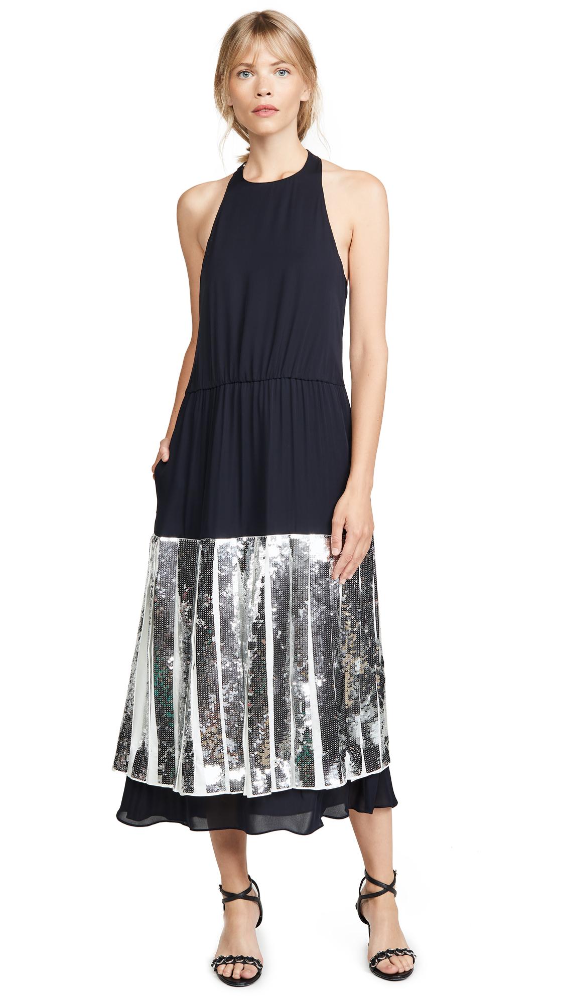 Buy Tibi online - photo of Tibi Layered Halter Dress