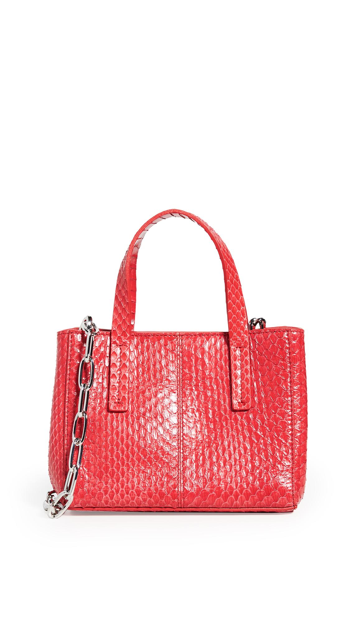 Tibi Le Client Mini Bag - Red