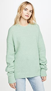 Tibi Alpaca Pullover with Arm Bands
