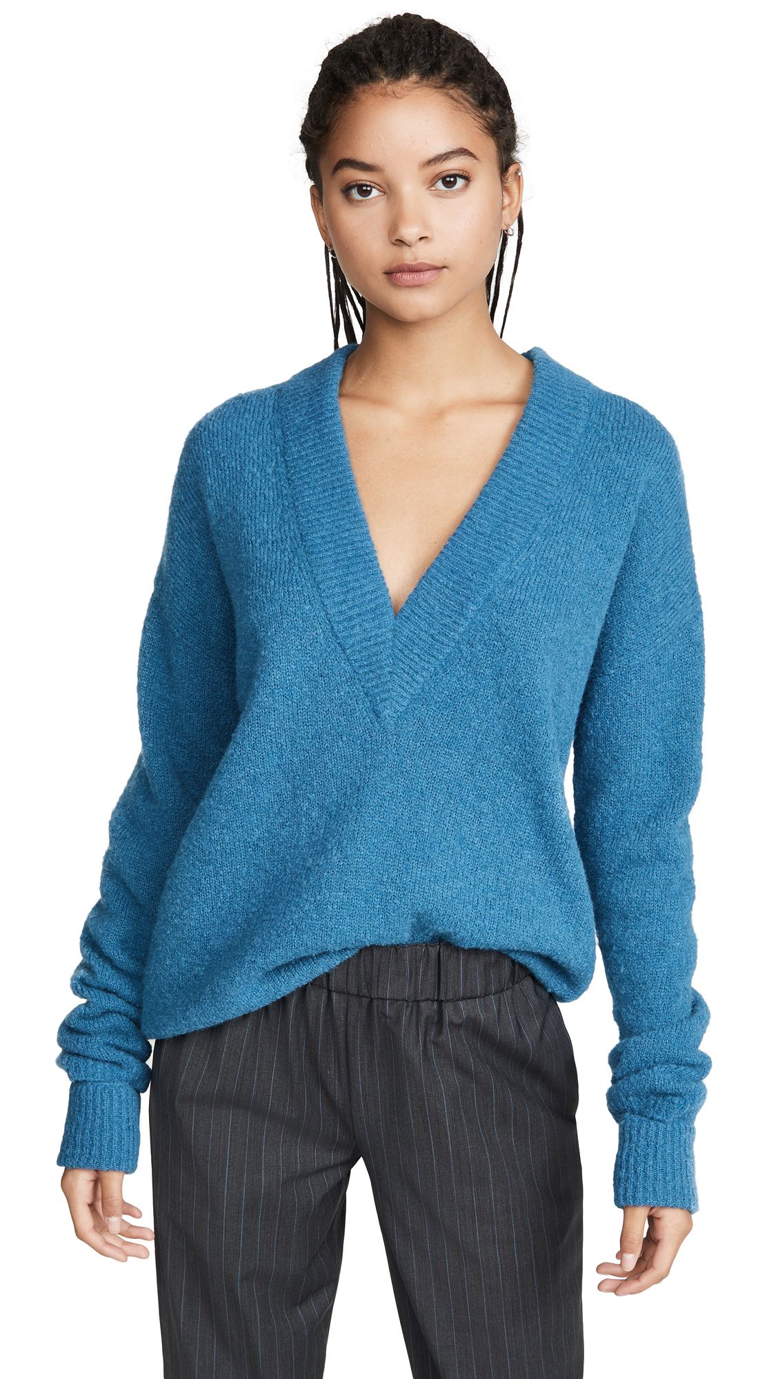 Buy Tibi online - photo of Tibi V Neck Pullover