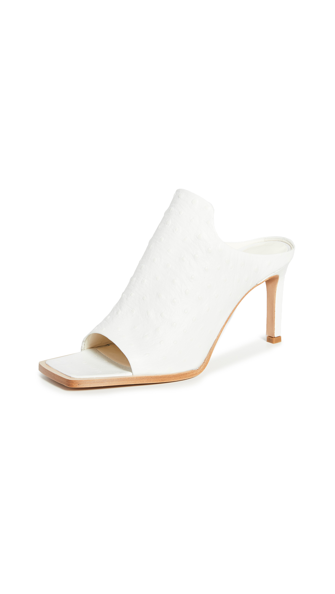 Tibi Andre Ostrich Shoes – 60% Off Sale