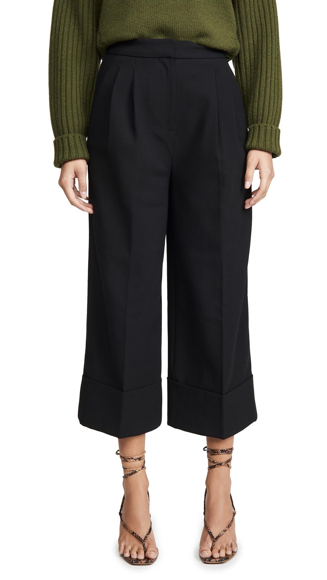 Buy Tibi online - photo of Tibi Cuffed Tuxedo Pants