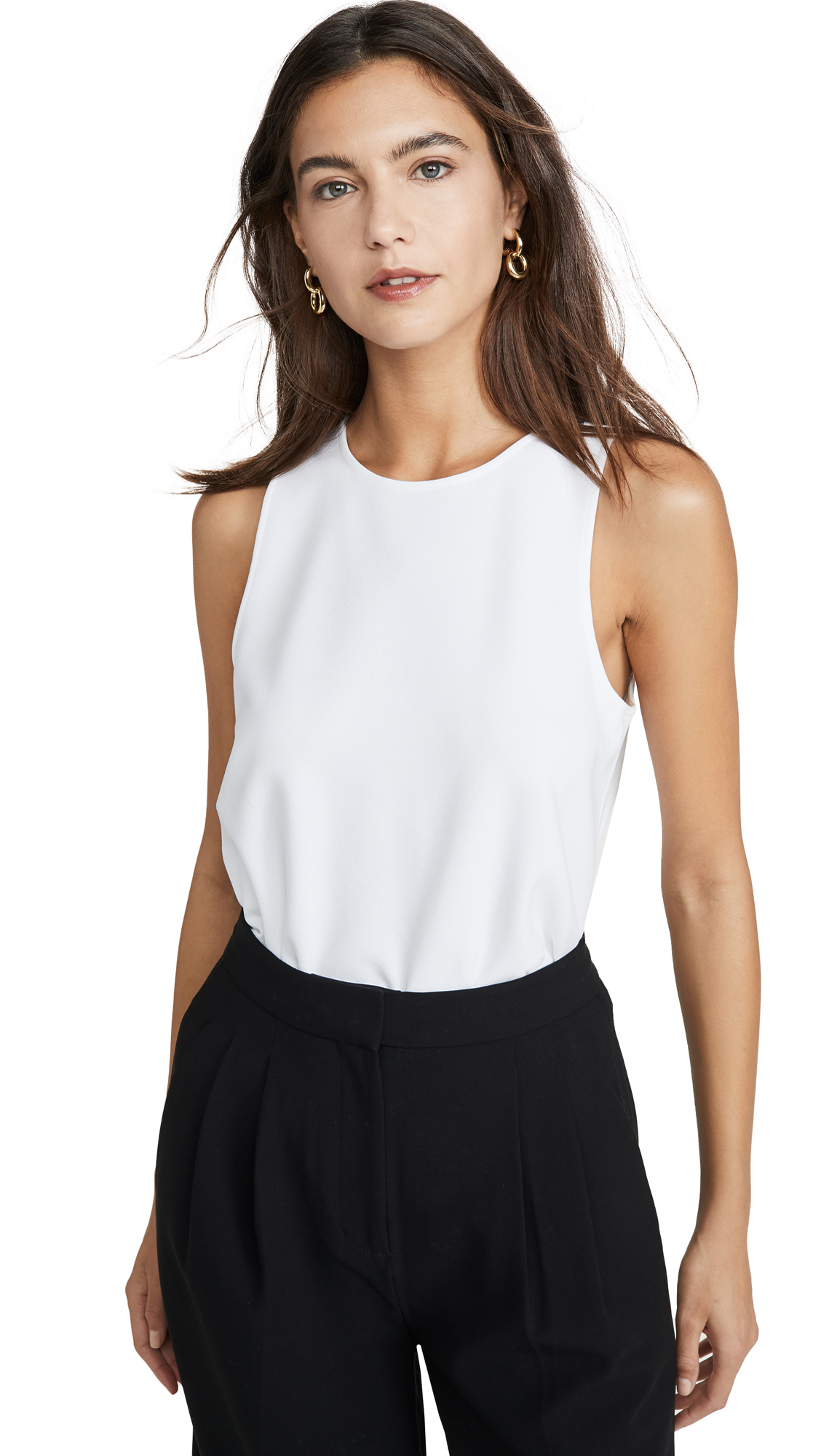 Buy Tibi online - photo of Tibi Tank with Twist Back Detail