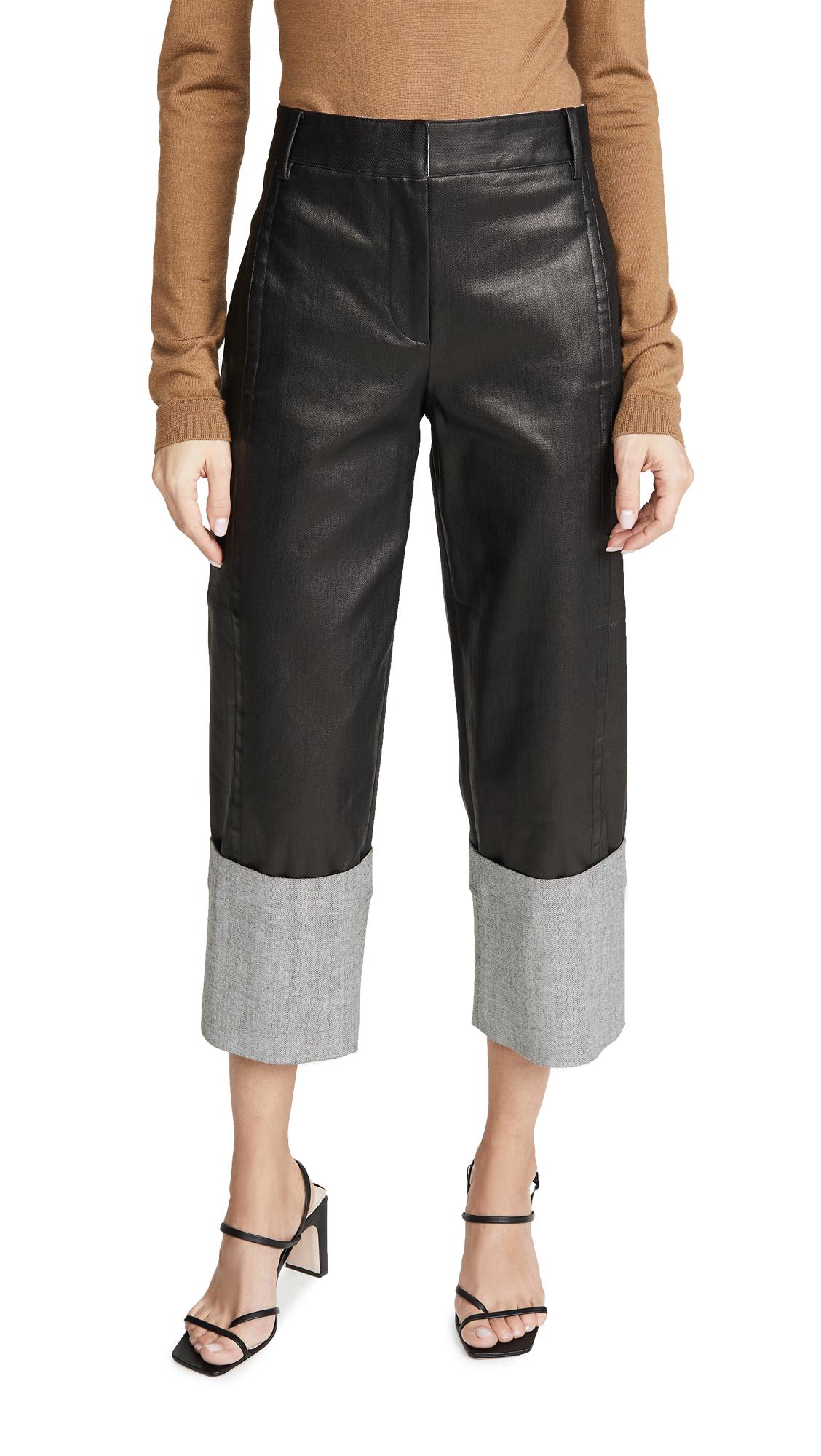 Buy Tibi online - photo of Tibi Cuffed Nerd Pants