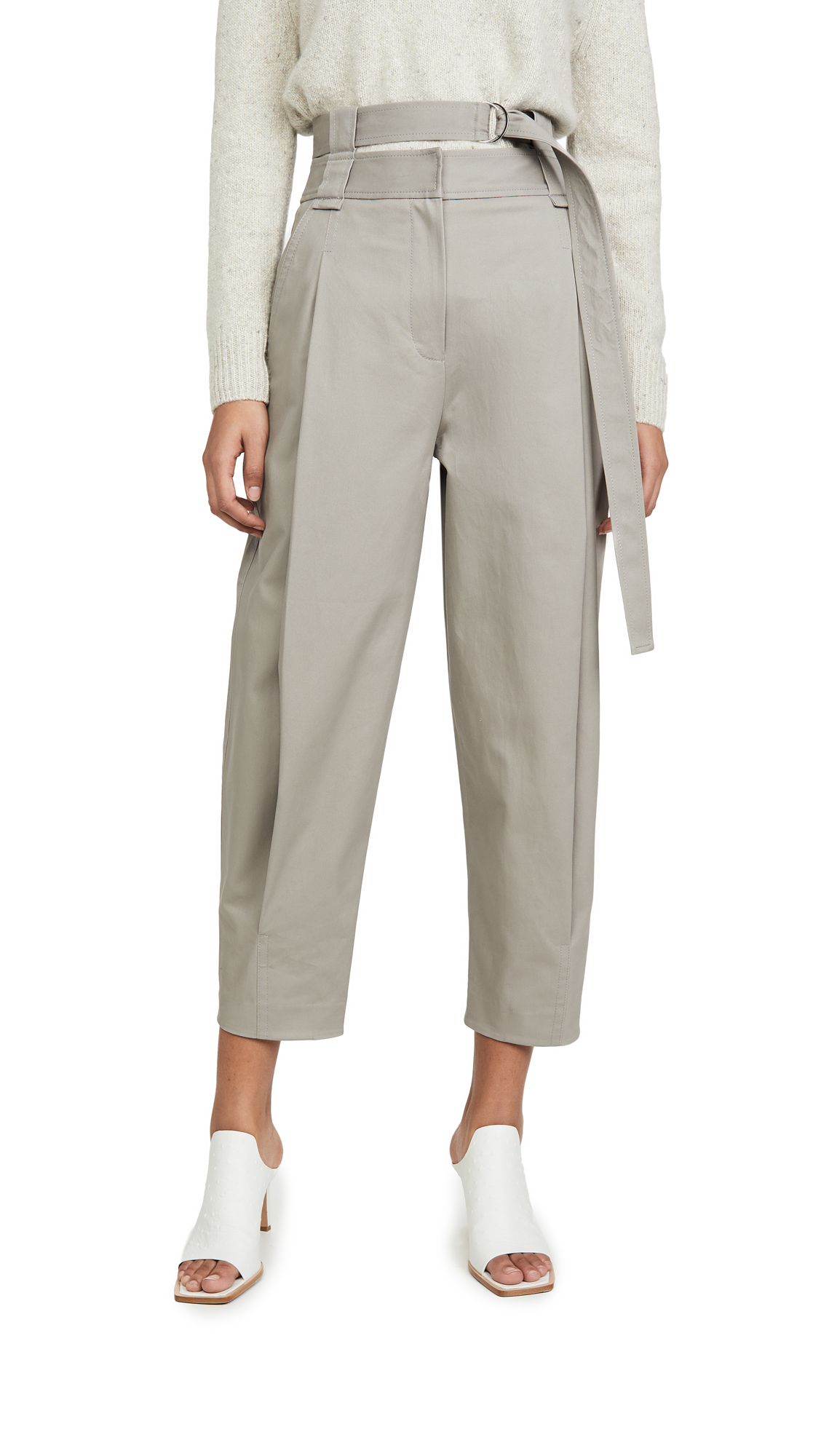 Buy Tibi online - photo of Tibi Double Waisted Sculpted Pants