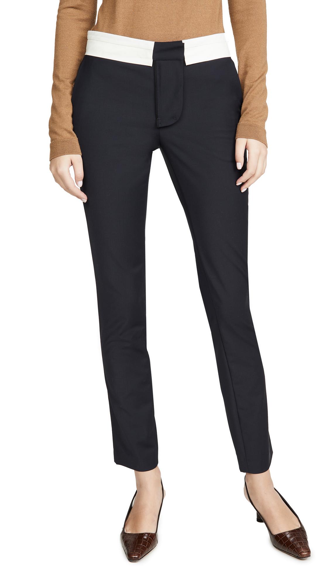 Buy Tibi online - photo of Tibi Beatle Pants with Waistband Detail