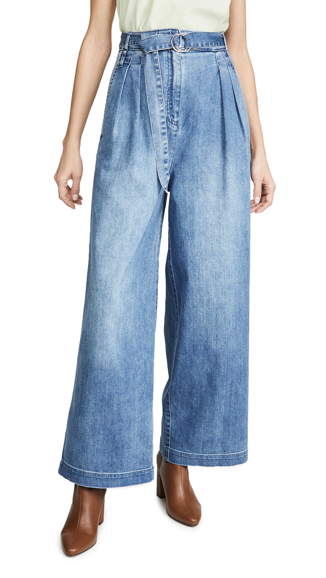 Buy Tibi online - photo of Tibi Stella Full Length Jeans