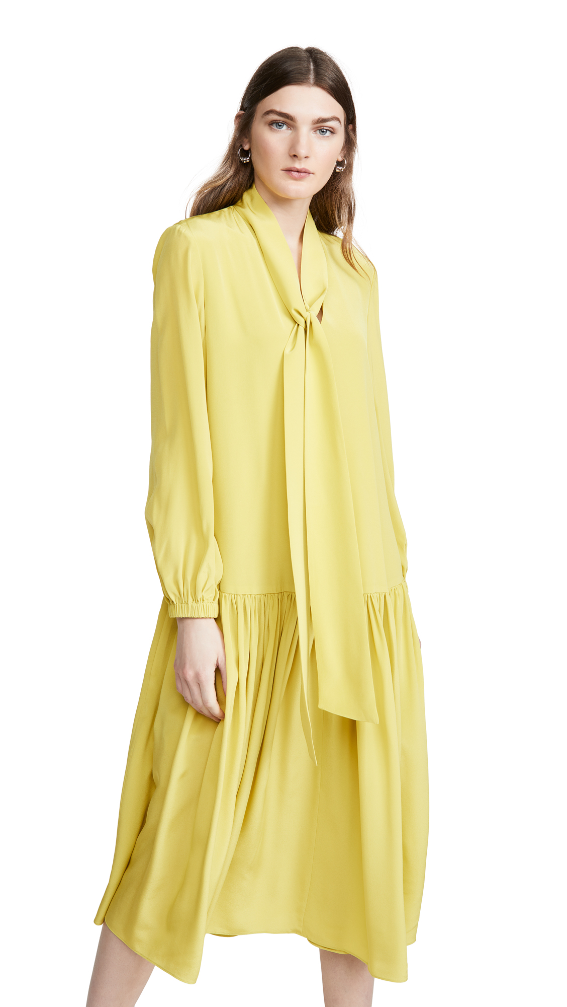Buy Tibi online - photo of Tibi Drop Waist Dress