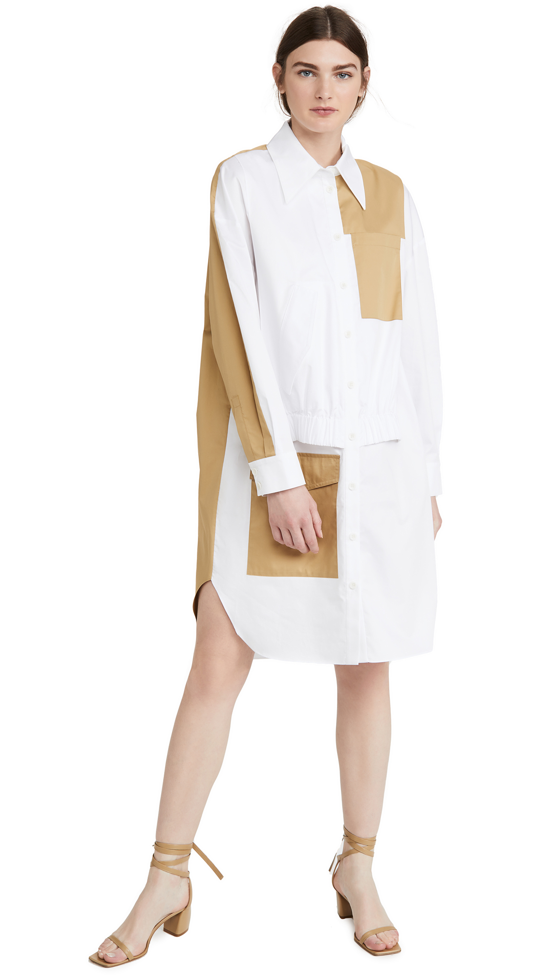 Buy Tibi online - photo of Tibi Double Layer Pocket Dress