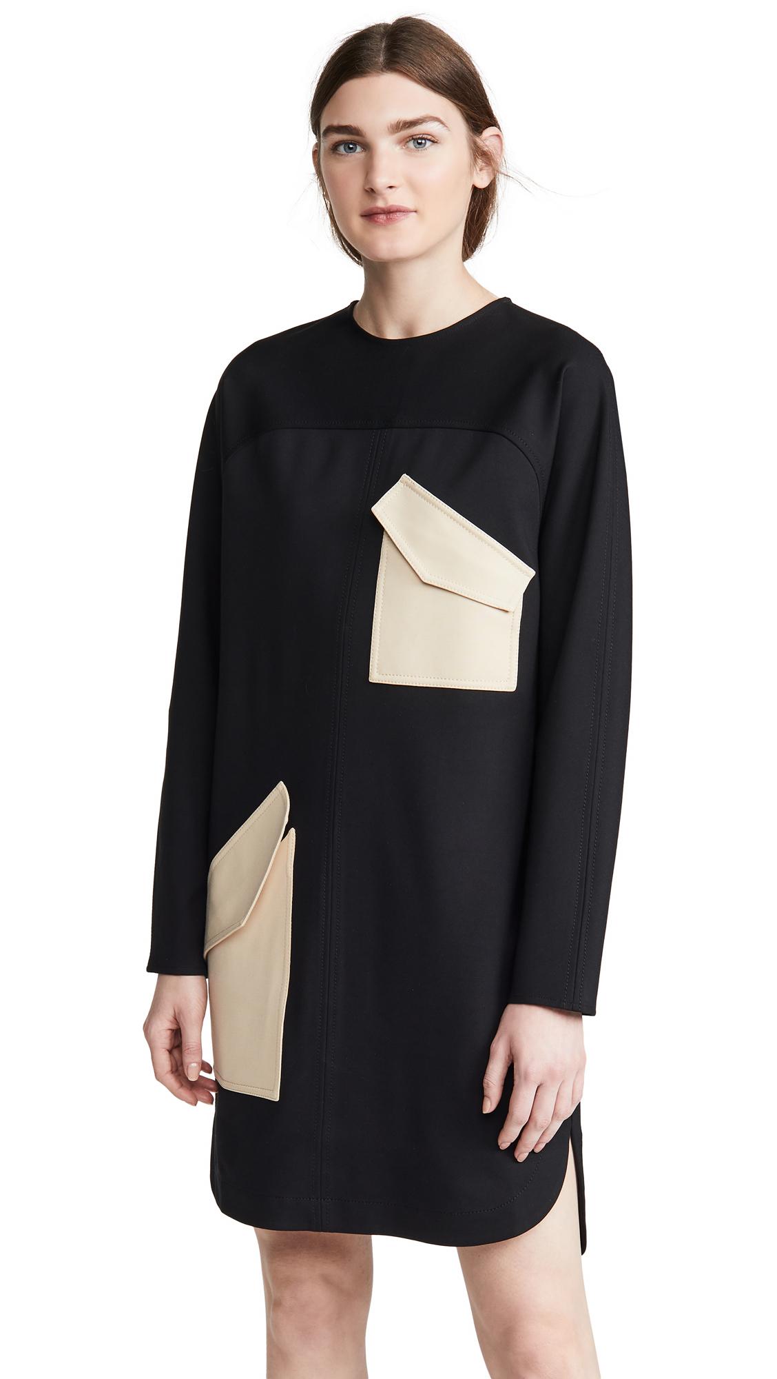 Buy Tibi online - photo of Tibi Bond Stretch Patched Dress
