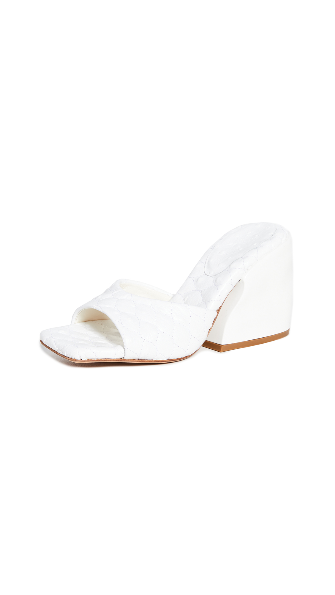 Tibi Kenji Quilted Sandals - 50% Off Sale
