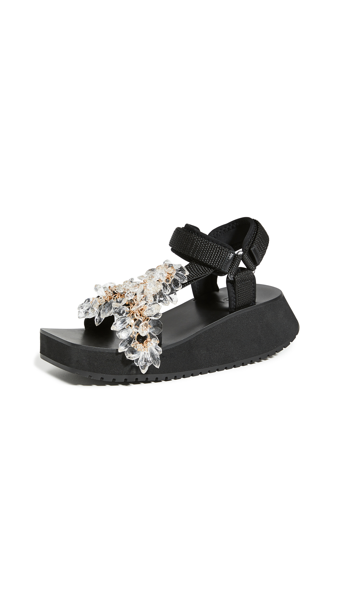 Tibi Ping Jeweled Sandals – 30% Off Sale
