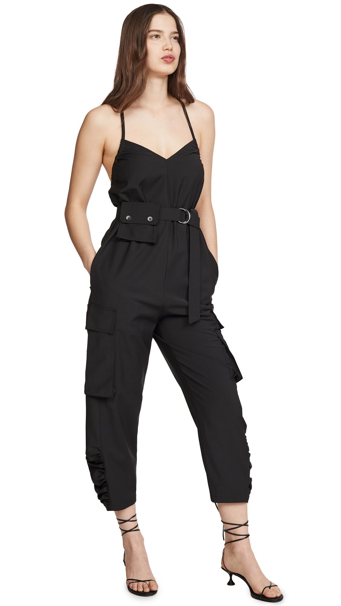 Buy Tibi online - photo of Tibi Tropical Wool Jumpsuit
