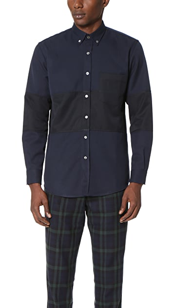 Timo Weiland Marco Middle Stripe Shirt