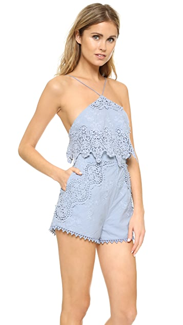 The Jetset Diaries Cielo Romper