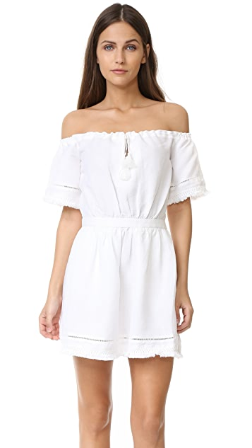 The Jetset Diaries Turismo Off Shoulder Mini Dress