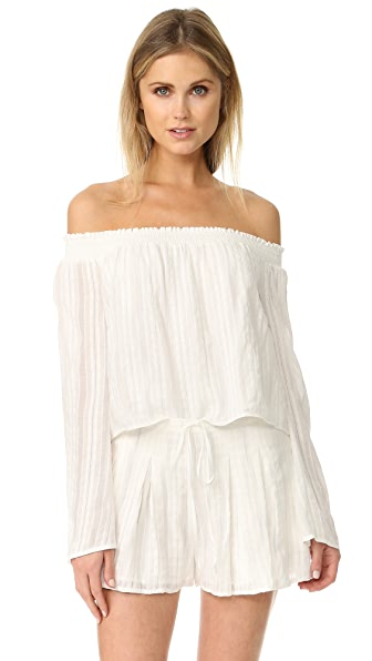 The Jetset Diaries Horizon Off Shoulder Top