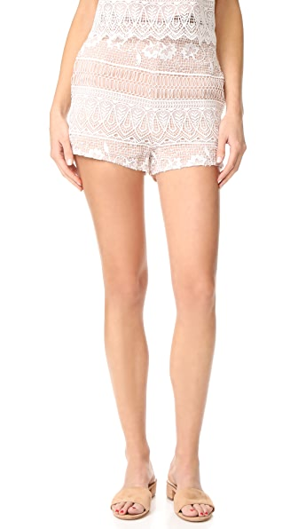 The Jetset Diaries Lupita Shorts - Ivory