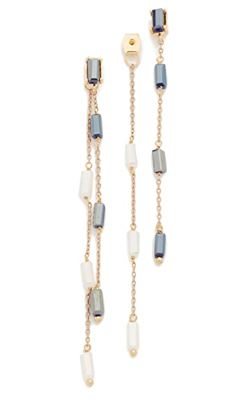Theia Jewelry Rain Drop Front Back Earrings