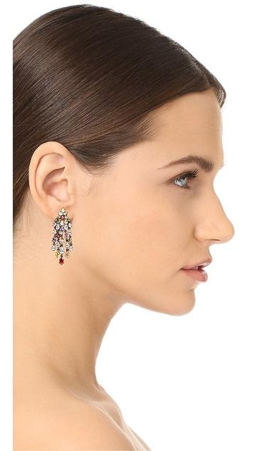 Theia Jewelry Cascading Chandelier Earrings
